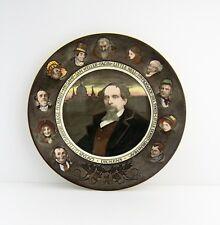 Vintage Royal Doulton Dickens Portrait Rack Plate D6306