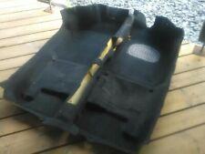 MG TF  later model luxury foam backed CARPET (BLACK) mgf upgrade