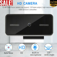 1080P Full HD PC Laptop Camera USB Webcam Video Calling Web Cam With Microphone