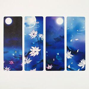 Pack of 8 paper bookmarks of Chinese scenery #0018
