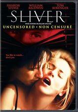 SLIVER - UNCENSORED (SHARON STONE) *****NEW DVD****