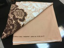 "Vintage  Marimekko Curtain  Fabric ""Ananas"" Maija Isola 1963  1.90 Yards"