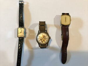 Lot 3 Montres - Timex / Geneve / Longines