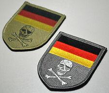 ISAF Bundeswehr Kommando Spezialkräfte SP OPS pirate Calico Jack vel©®⚙ Flag Set
