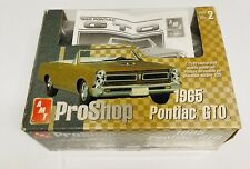 🏁 AMT ProShop 1965 Pontiac GTO Pre-Decorated (Open Box Kit) Build in Process 🏁
