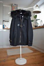 ZARA THREE QUARTER Length Coat With Combined Hood Size M BNWT RRP 129GBP