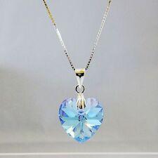 Modeschmuck-Halsketten & -Anhänger aus Kristall und Sterlingsilber