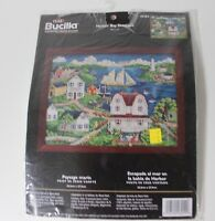 Bucilla Counted Cross Stitch Kit - Harbor Bay Seascape 43254 Art of Steve Klein