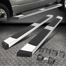 For 09 20 Dodge Ram Extended Quad Cab 55ss Flat Step Nerf Bar Running Boards Fits Dodge Ram 1500