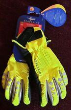 Sealskinz All Weather Cycle Gloves. High viz, waterproof, insulated, breathable.