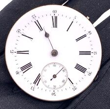 Unknown Hand Manual Vintgae 45.2 mm Pocket Watch Doesn'T Works for Parts