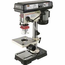 SHOP FOX Oscillating Benchtop Drill Press - 5-Speed 8 1/2in 1/2 HP 110V W1667