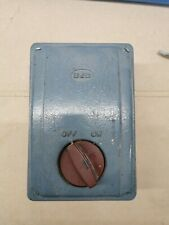 Boxford Model B transformer Enclosure And Switch plate