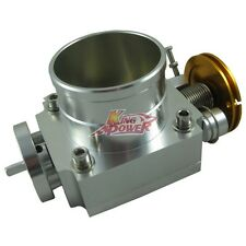 POLISH 70MM THROTTLE BODY PERFORMANCE INTAKE MANIFOLD BILLET ALUMINUM HIGH FLOW
