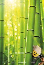 The Lego Ninjago Movie Poster (24x36) - Be Green, Green Ninja, Lloyd, Franco v4