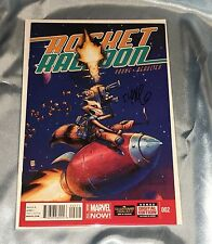 Rocket Raccoon #2~1St Print~Signed By Skottie Young~Marvel Movie~