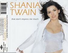 SHANIA TWAIN : THAT DON'T IMPRESS ME MUCH / CD
