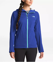 The North Face NWT Womens ALLPROOF STRETCH RAIN JACKET DryVent blue S Small $149