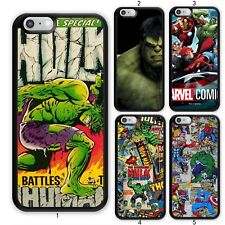 Incredible Hulk Avengers Comic Case Cover For Samsung Galaxy / Apple iPhone iPod