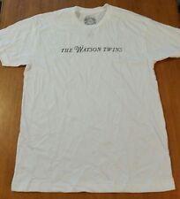 The Watson Twins Tshirt Size Large Rsd 2014 Rare Promo Shirt