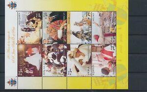 LO41268 Peru pope John Paul II fp good sheet MNH
