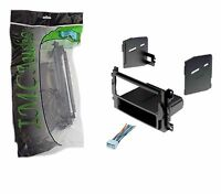 Chrysler Dodge Jeep Single Din Dash Kit for Radio Stereo Install Wire Harness