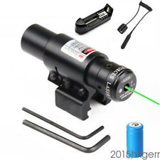 Tactical Universal Green Laser Sight  Mount Fit For Gun Rilfe Battery Charger