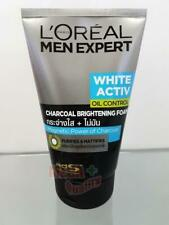 Loreal Men Expert WHITE ACTIVE CHARCOAL BRIGHTENING FOAM Facial Face Wash 100ml