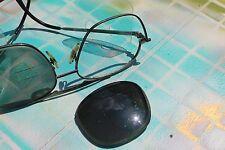 VINTAGE 50's 60's RX Eye Glasses, Chrome Metal Frame, Break