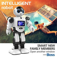 "Intelligent Humanoid Robot Toy 2.4"" TFT Video Smart Life Companion Camera White"