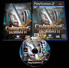 CHAMPIONS OF NORRATH PS2 Versione Ufficiale Italiana 1ª Edizione ••••• COMPLETO