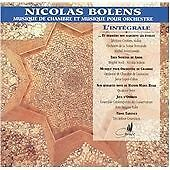 Nicolas BOLENS Chamber & Orchestral Music 2 CDs Cypres