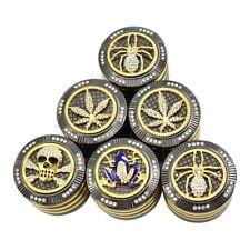 Tobacco Herb Spice Grinder Herbal Alloy Smoke Metal Chromium Crusher