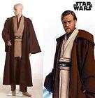 Star Wars Obi-Wan Kenobi Jedi TUNIC Costume Nuovo Standard Size S-3XL