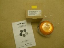 MOFLASH SIGNALLING LTD LED195-02WH-01 AMBER 20-30V  LED LAMP/LIGHT B/NEW IN BOX
