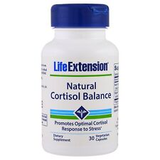 Natural Cortisol Balance - 30 Vcaps by Life Extension - Promotes Stress Response