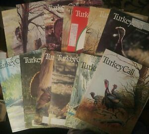12 Turkey Call Magazine 191976 1977 1978 In Good Condition Hunting