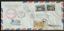Vietnam # Registered Postal Cover to Us 1969