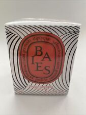 Diptyque BAIES Candle LIMITED EDITION 70g 2.4oz Dancing Ovals Graphic Collection