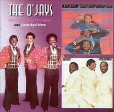 THE O'JAYS - WHEN WILL I SEE YOU AGAIN/MORE & MORE (NEW CD)