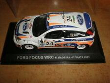 Altaya  1/43  Ford Focus WRC  Madeira/Prata 2001       MIB (07-003)