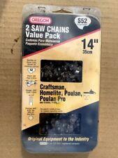 2 - 14� Oregon Chain Saw Chains Nip