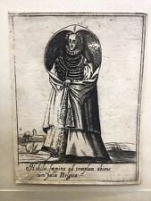 BELGIO 1589 G. FRANCO Alciato Alciati P.Bertelli DONNA, RARA