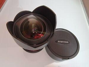 Samyang 14mm t 3.1 IF ED AS UMC CANON