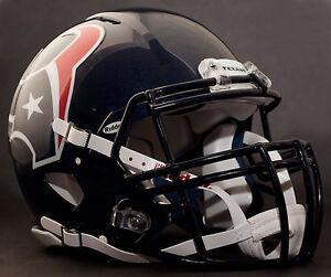 J.J. WATT Edition HOUSTON TEXANS Riddell SPEED Football Helmet