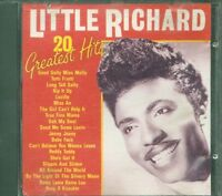 Little Richard - 20 Greatest Hits Cd Ottimo