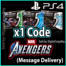 5 Gum Marvel Avengers PS4 DLC Wrigleys Peppermint Cobalt - FAST CODE DELIVERY!
