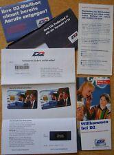 D2 PRIVAT SIM-Karte von 1999 Mannesmann NEU/OVP für Sammler Rarität TwinCard