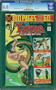 TARZAN 232 CGC 6.0 Joe Kubert 1974 Jungle BROKEN CASE