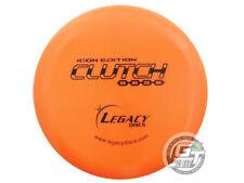 New Legacy Discs Icon Clutch 166g Orange Black Stamp Putter Golf Disc